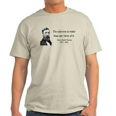 Henry David Thoreau 31 Light T-Shirt