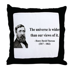 Henry David Thoreau 31 Throw Pillow