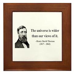 Henry David Thoreau 31 Framed Tile