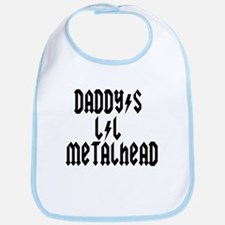 Daddy's Lil Metal Head Thunde Bib