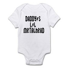 Daddy's Lil Metal Head Thunde Infant Bodysuit
