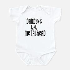 Daddy's Lil Metal Head Thunde Infant Bodysuit