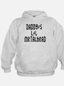Daddy's Lil Metal Head Thunde Hoodie