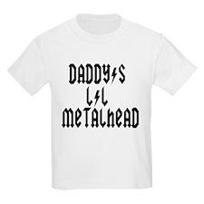 Daddy's Lil Metal Head Thunde T-Shirt