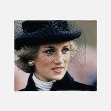 HRH Princess of Wales France Throw Blanket