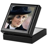 Princess diana Square Keepsake Boxes
