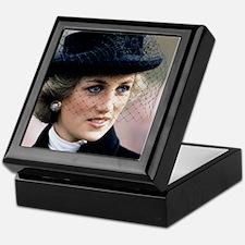 HRH Princess of Wales France Keepsake Box