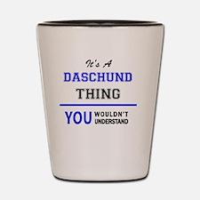 Unique Daschund Shot Glass