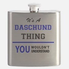 Unique Daschund Flask