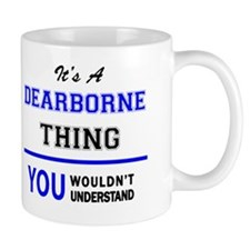 Unique Dearborn Mug