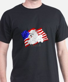 Poodle USA T-Shirt