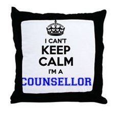 Cute I blog therefore i am Throw Pillow