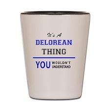 Funny Delorean Shot Glass