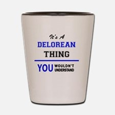 Cute Delorean Shot Glass