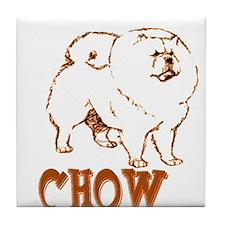 Unique Chows Tile Coaster