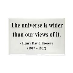 Henry David Thoreau 31 Rectangle Magnet