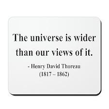 Henry David Thoreau 31 Mousepad