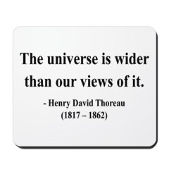 Henry David Thoreau 31 Mousepad