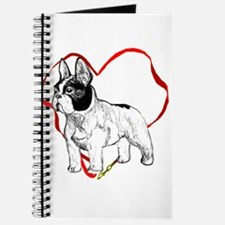Funny French bulldogs Journal