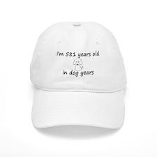83 dog years 6 - 3 Baseball Baseball Cap