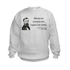 Henry David Thoreau 32 Sweatshirt