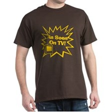 As Seen On TV Brown T-Shirt