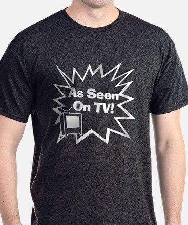 As Seen On TV Charcoal T-Shirt