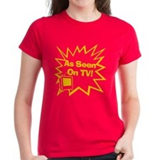 As Seen On TV Women's Red T-Shirt