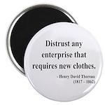 Henry David Thoreau 32 Magnet