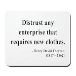 Henry David Thoreau 32 Mousepad