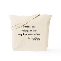 Henry David Thoreau 32 Tote Bag