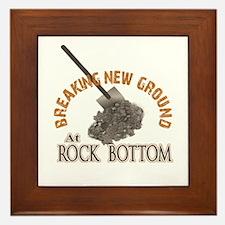 Breaking New Ground At Rock Bottom Framed Tile