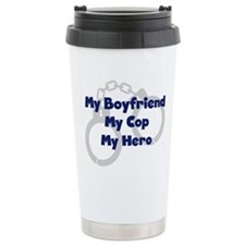 Unique My daddy my hero Travel Mug