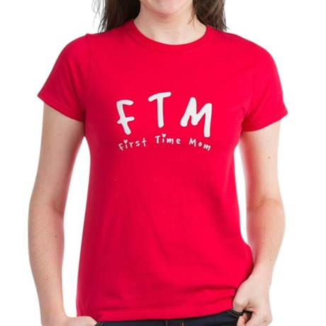 FTM First Time Mom Women's Dark T-Shirt