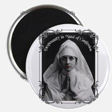 """Nun Confession"" 2.25"" Magnet (10 pack)"
