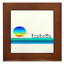 Izabella Framed Tile