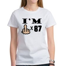 Im Middle Finger Times 87 T-Shirt