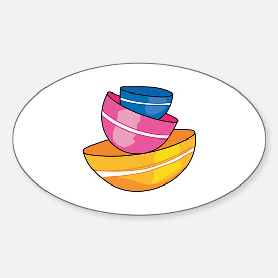 STACKED MIXING BOWLS Decal