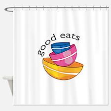 GOOD EATS Shower Curtain