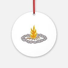 CAMPFIRE Ornament (Round)