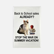 Summer Vacation Rectangle Magnet