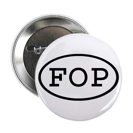 """FOP Oval 2.25"""" Button (100 pack)"""