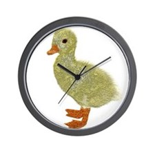 small duckling Wall Clock