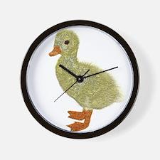 small duckling Wall Clock