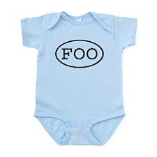 FOO Oval Infant Bodysuit