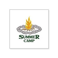 SUMMER CAMP Sticker