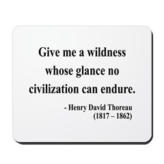 Henry David Thoreau 4 Mousepad