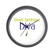 Down Syndrome Diva Wall Clock