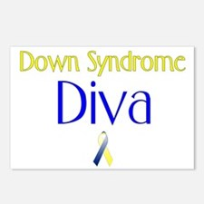 Down Syndrome Diva Postcards (Package of 8)