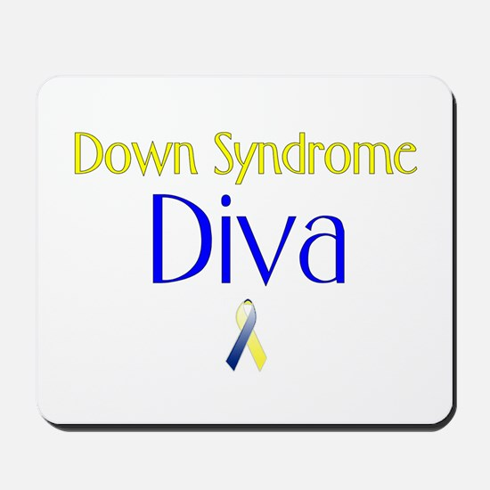 Down Syndrome Diva Mousepad